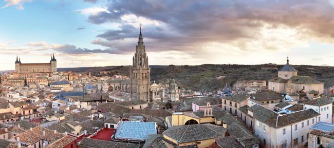 tejados de la ciudad de Toledo