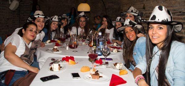 restaurante despedidas de solteras Toledo divertido