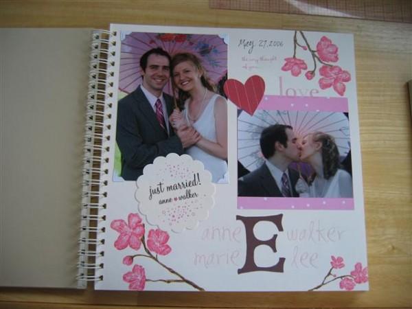 scrapbook para despedidas de soltera