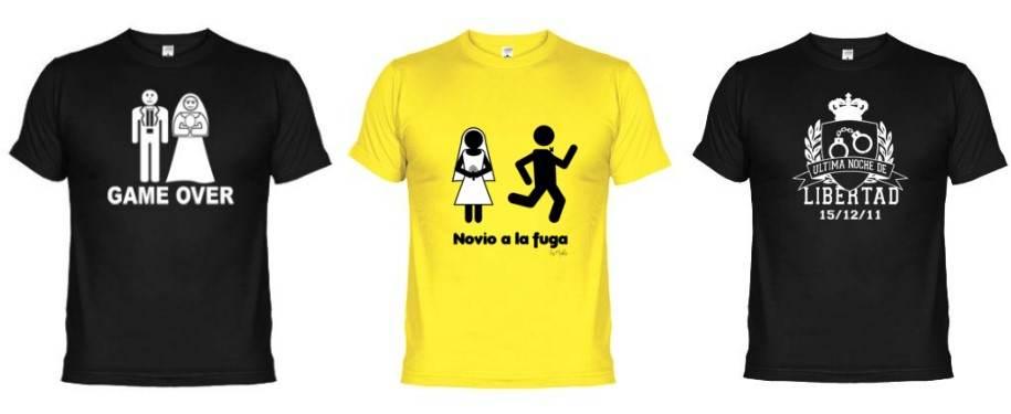 camisetas y frases para despedidas de soltero